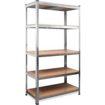 Movable stainless steel slotted angle garage shelving,warehouse racking system