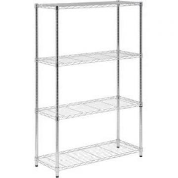 China Manufacturer Warehouse Storage Rack Drive In Through Pallet Rack Multi Tier Boltless Shelving Storage Racks Commercial Met