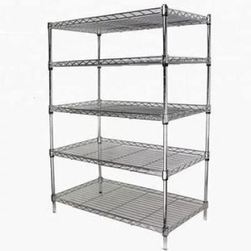 Warehouse Storage Selective Pallet Rack System with Wire Mesh Decking