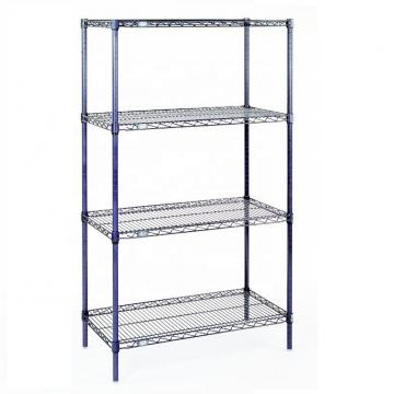 3-Shelf Shelving Storage Unit Chrome Silver with Adjustable Shelves and Leveling Feet Metal Adjustable Organizer Wire Rack