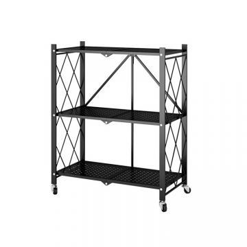4 tier kitchen storage metal wire shelving wire mesh shelves rack (GOLDSUN Vietnam)
