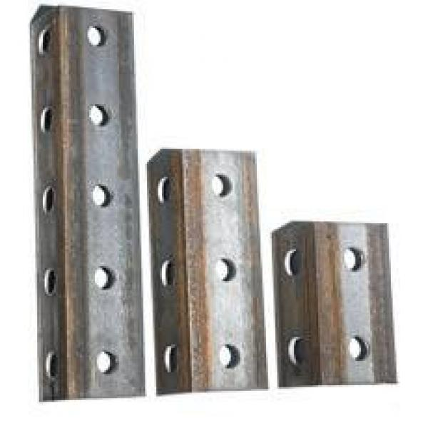 Black Iron Angle Steel Cold Bend Perforated Hot DIP Galvanized Construction Equal and Unequal Angle Bar #3 image