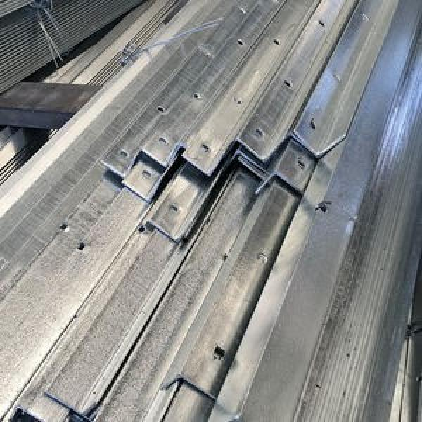 Black Iron Angle Steel Cold Bend Perforated Hot DIP Galvanized Construction Equal and Unequal Angle Bar #2 image
