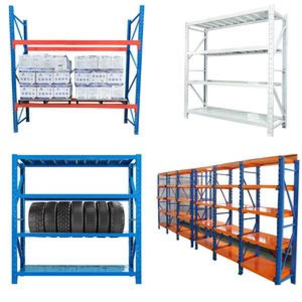 Adjustable metal shelving,industrial storage heavy duty rack warehouse system #3 image