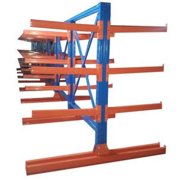 Retail Rolling Type Pallet Racking Roll out Shelf Roller Rack Systems #3 image