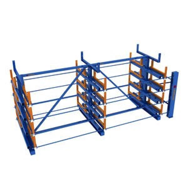 Retail Rolling Type Pallet Racking Roll out Shelf Roller Rack Systems #2 image